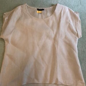 Linen blouse by Willi Smith